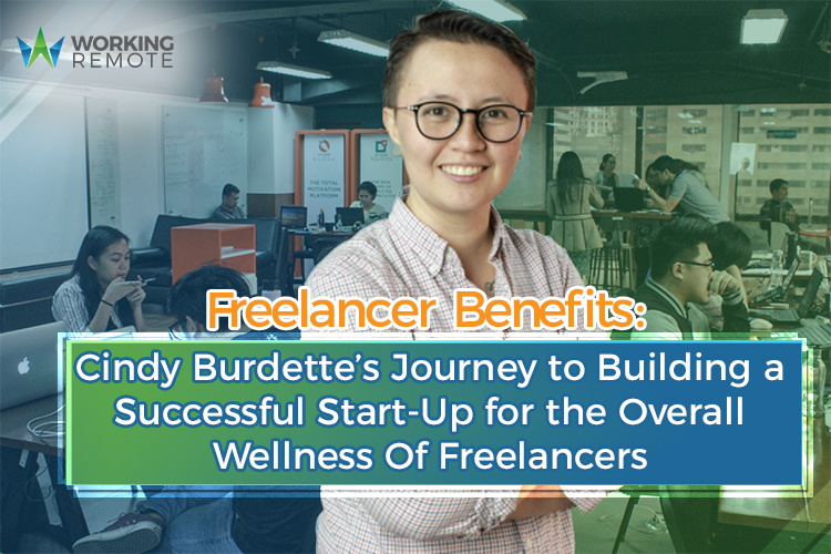 Freelancer Benefits: Cindy Burdette's Journey to Building a Successful Start-up for the Overall Wellness of Freelancers