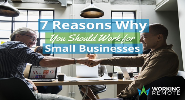 7 Reasons Why You Should Work for Small Businesses