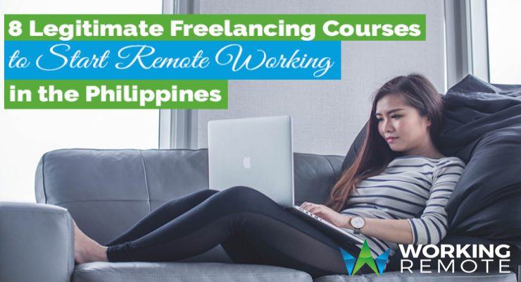 8 Legitimate Freelancing Courses to Start Remote Working in the Philippines