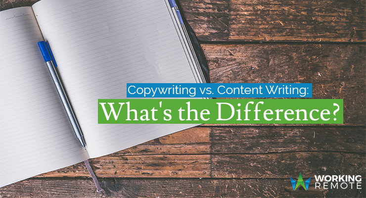 Copywriting vs. Content Writing: What's the Difference?