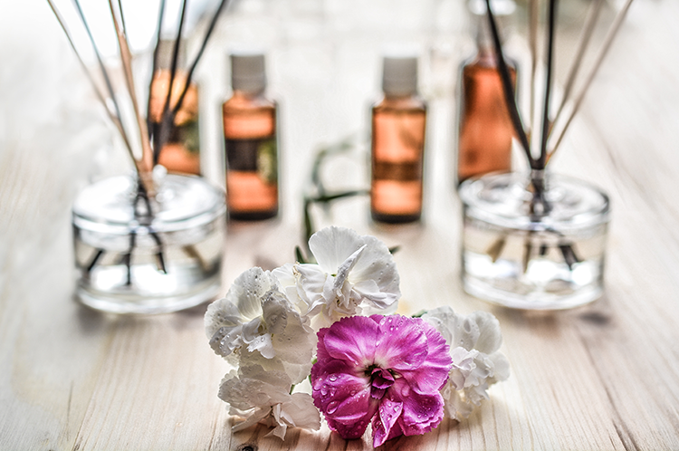 Use Scented Candles, Diffuse Essential Oils, and Add some Greenery