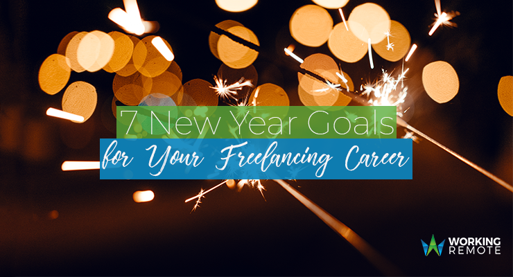 7 New Year Goals for Your Freelancing Career