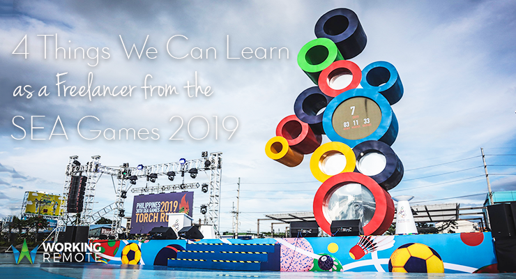 4 Things We Can Learn as a Freelancer from the SEA Games 2019