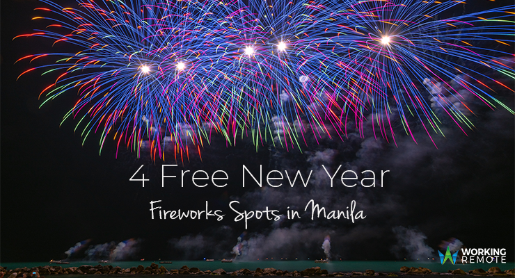 4 Free New Year Fireworks Display in Manila