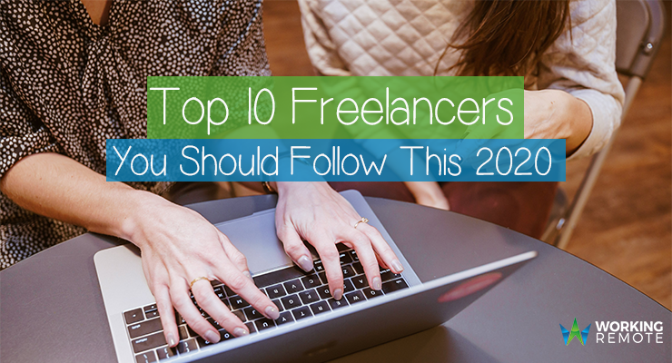 Top 10 Freelancers You Should Follow This 2020