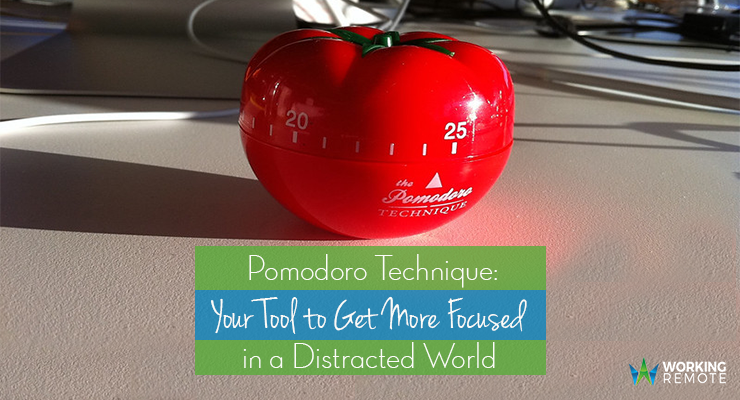 Pomodoro Technique: Your Tool to Get More Focused in a Distracted World